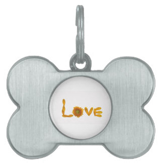 Daisy Love Pet ID Tag
