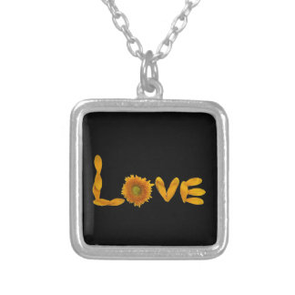 Daisy Love Silver Plated Necklace