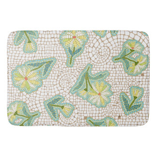 Daisy Mosaic Custom Large Bath Mat