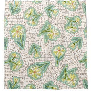 Daisy Mosaic Shower Curtain
