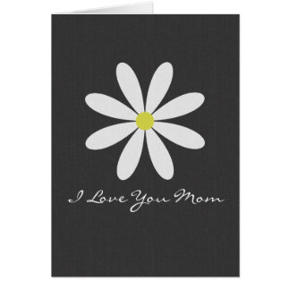 Daisy Mother's Day Note Card