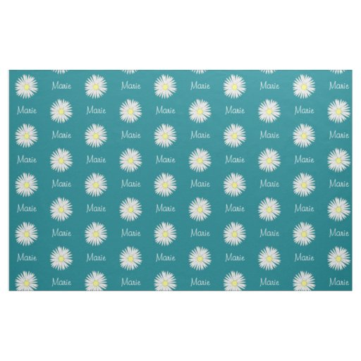 Daisy Name Fabric