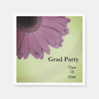 Daisy Paper Napkins For Graduation Parties