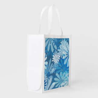 daisy party reusable grocery bag