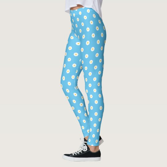 Daisy Pattern Leggings