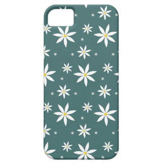 Daisy Patterned Green Iphone Case