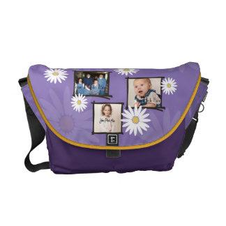 Daisy Photo Frame Messenger Bags