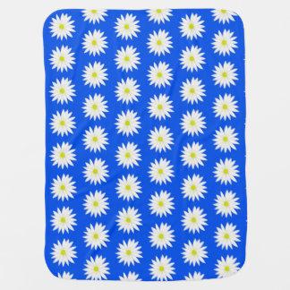 daisy print baby blanket