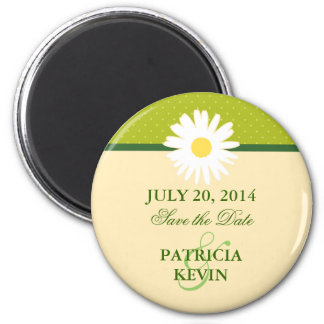 Daisy Save the Date Magnet