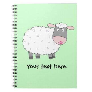 Daisy Sheep Note Book