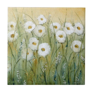 Daisy Spring I Tile
