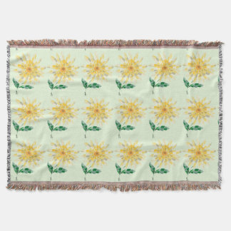 Daisy Stained Glass Blanket - Blanket Daisy
