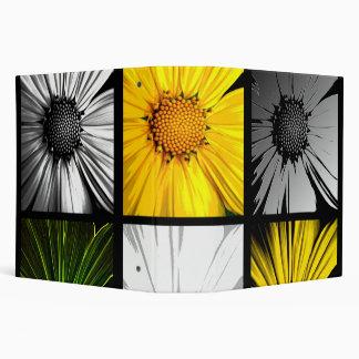 Daisy Sunflower Collage Binder