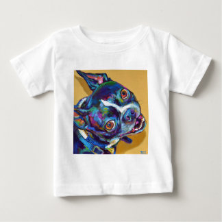 Daisy the Boston Terrier by Robert Phelps Baby T-Shirt