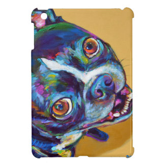 Daisy the Boston Terrier by Robert Phelps Cover For The iPad Mini