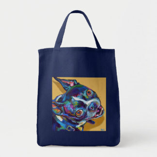 Daisy the Boston Terrier by Robert Phelps Tote Bag