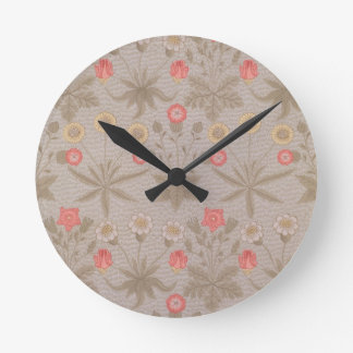 'Daisy', the first wallpaper designed by William M Round Clock