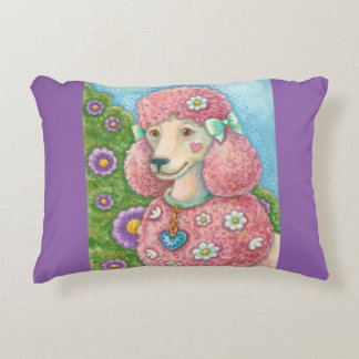 DAISY The Pink Poodle ACCENT PILLOW