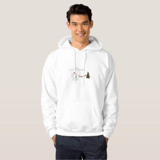 daisy the Shih Tzu mens christmas hoodie!!! Hoodie