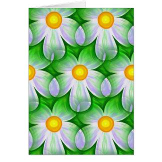 daisy themed card