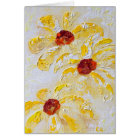 """Daisy Trio"" by Chris Rice Note Cards"