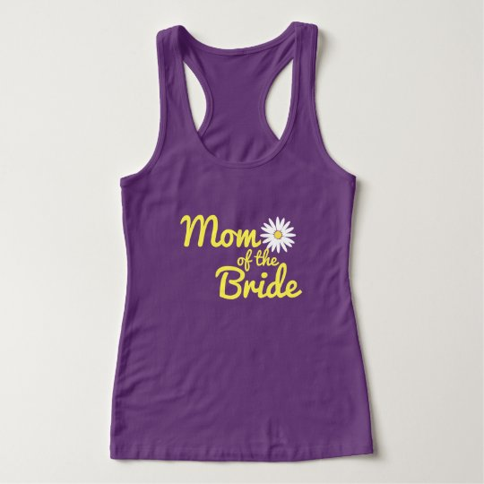 Daisy Wedding Mom of the Bride Tank Top