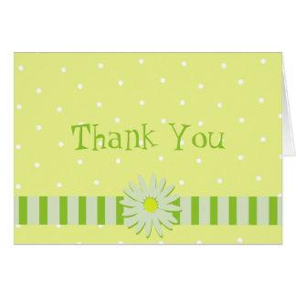 Daisy Wedding/ Thank You Card