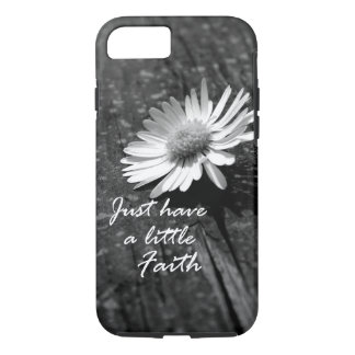 Daisy Wood Faith Quote iPhone 7 Case