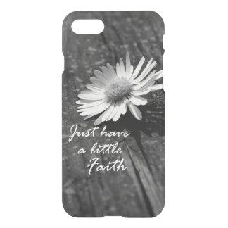 Daisy Wood Faith Quote iPhone 7 Case