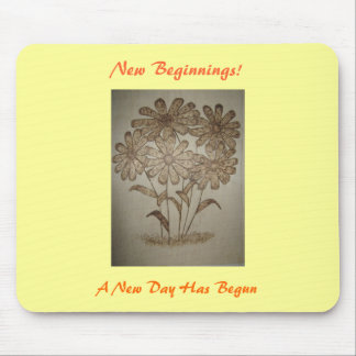 Daisy's New Beginning Mousepad