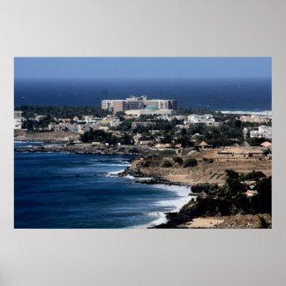 Dakar,Senegal African West Coast  Canvas Poster