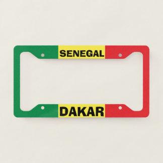 Dakar Senegal Custom License Plate Frame