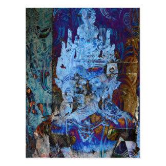 Dakini Emanation Blue Dreamer Postcard