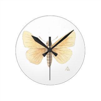 Dakota Skipper cropped Round Clock