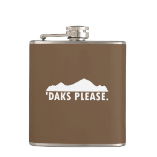 Daks Please Hip Flask