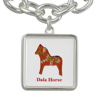 Dala Horse Charm Bracelet