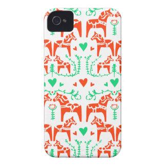 Dala Horse iPhone 4 Cover