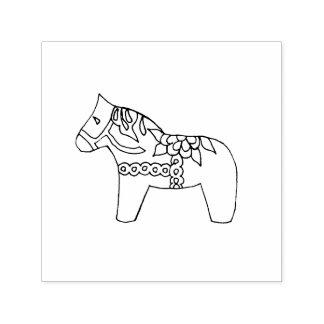 Dala Horse Self-inking Stamp