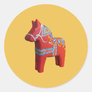 Dala Horse Sticker