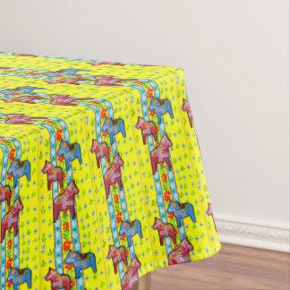 Dala Horses Tablecloth