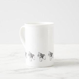 Dala Horses Tea Cup