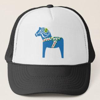 Dalahäst   Dala horse blue Trucker Hat