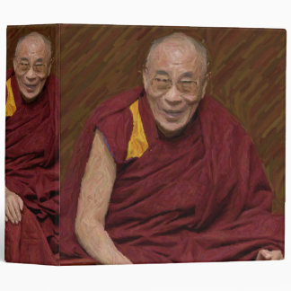 Dalai Lama Buddha Buddhist Buddhism Meditation Yog 3 Ring Binder