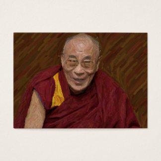 Dalai Lama Buddha Buddhist Buddhism Meditation Yog Business Card