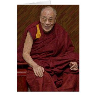 Dalai Lama Buddha Buddhist Buddhism Meditation Yog Card