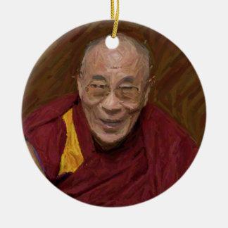 Dalai Lama Buddha Buddhist Buddhism Meditation Yog Ceramic Ornament