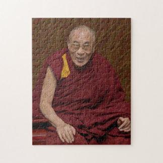 Dalai Lama Buddha Buddhist Buddhism Meditation Yog Jigsaw Puzzle