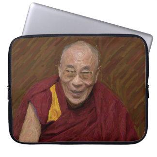 Dalai Lama Buddha Buddhist Buddhism Meditation Yog Laptop Sleeve