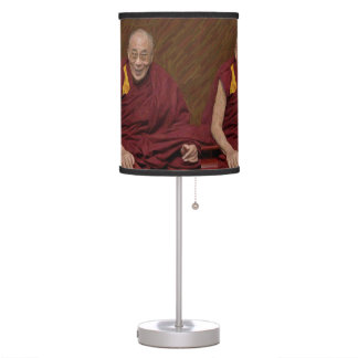 Dalai Lama Buddha Buddhist Buddhism Meditation Yog Table Lamp