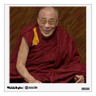 Dalai Lama Buddha Buddhist Buddhism Meditation Yog Wall Decal